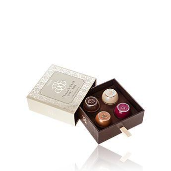 Tender Care Giftbox - vanille, kersen, caramel, kokos Www.nicebybeauty.nl