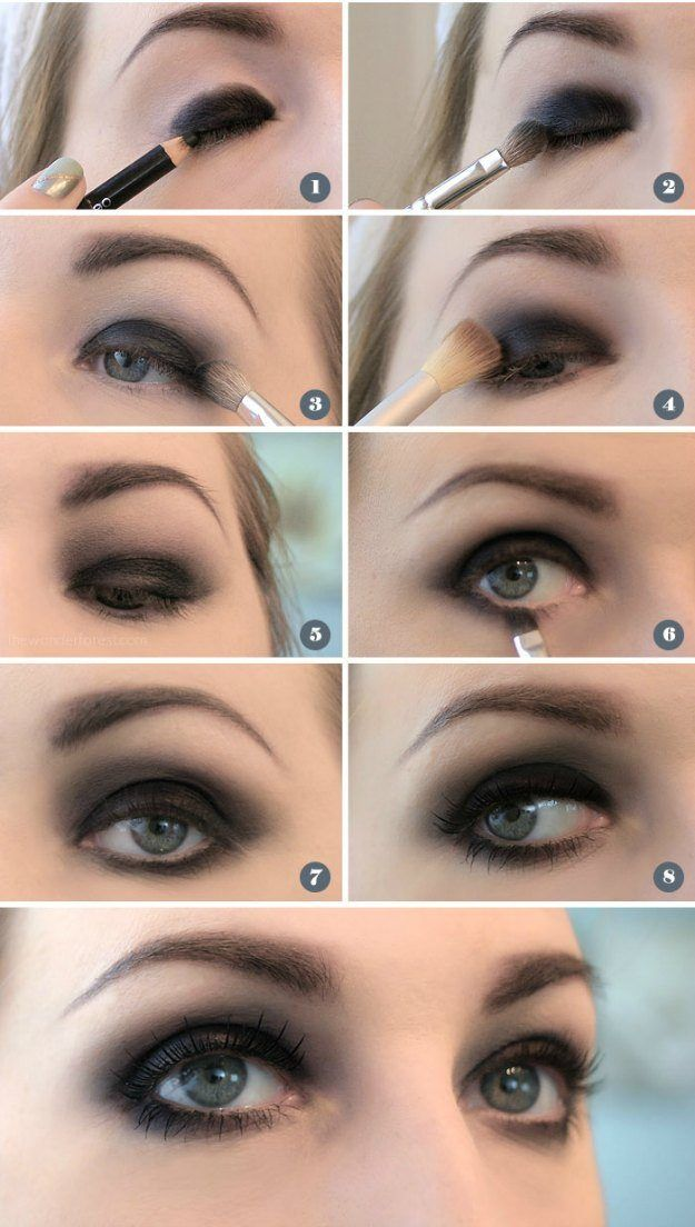 Super Black Smokey Eye | Smokey Eye Night Out Makeup Tutorials