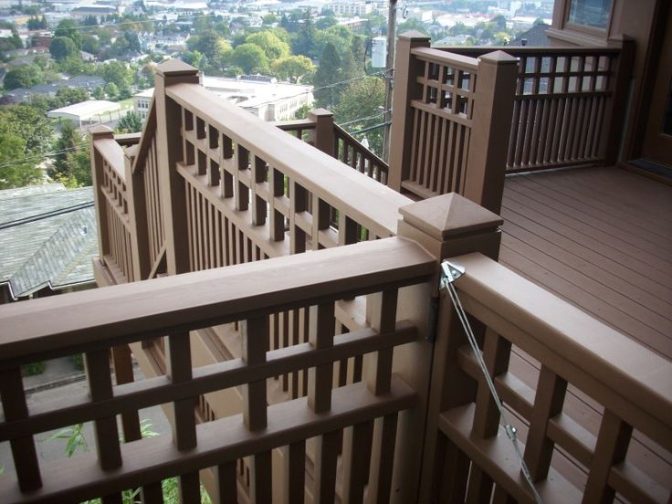 42 best images about outdoor furniture fencing railing on for 3 story deck