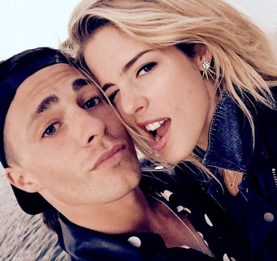 colton haynes and emily bett rickards dating Teen wolf star colton haynes' romantic engagement photo  they started dating in  arrow's stephen amell and emily bett rickards are so game for colton haynes .