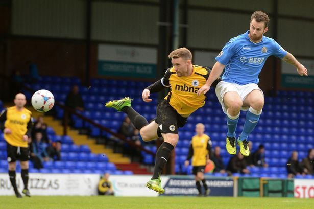 Hanging on: Stockport County 2 Colwyn Bay 1 - Manchester Evening News