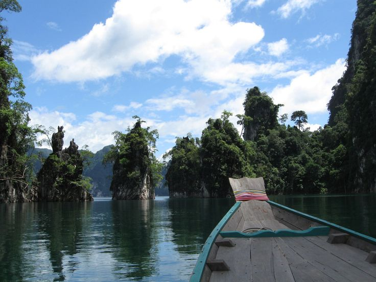 Schitterende mini-eilanden in Khao Sok Nationaal Park - Nationale Parken Thailand