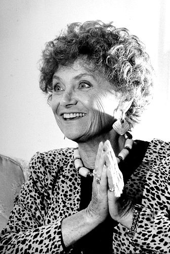 """Estelle Getty - (07/25/1923-07/22/2008) born Estelle Scher. Stage, film, TV actress and comic. TV series """"Golden Girls"""" showed her dry wit. Emmy and Golden Globe winner. Retired from show business in 2000 after revealing she had Lewy Bodies Dementia."""