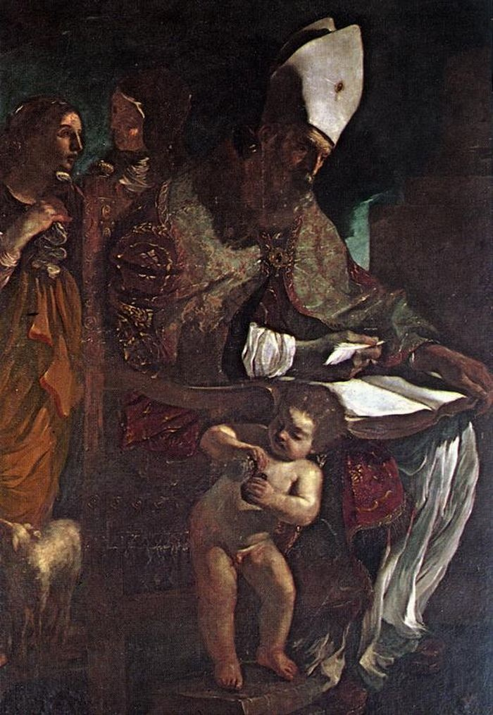 St Augustine by GUERCINO #art