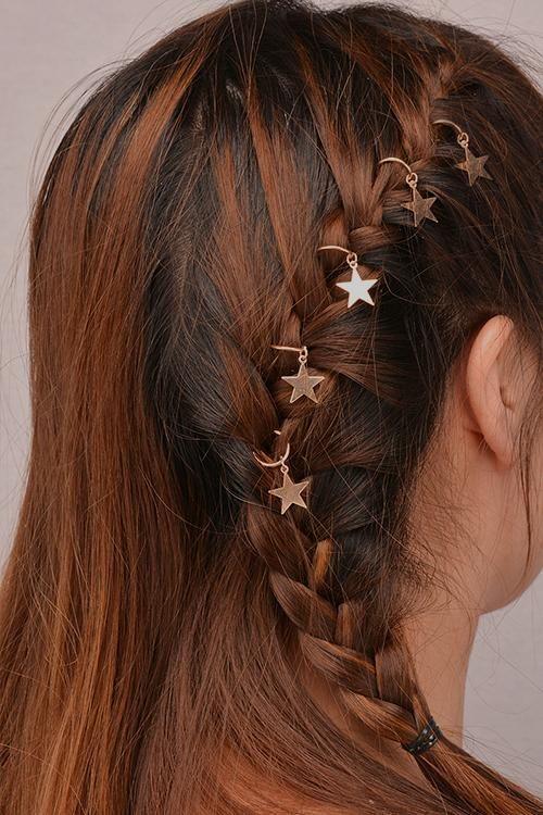 68d1734339 What a Dreamer Hair Clips in 2019 | Hair Fashion | Hair rings, Star ...