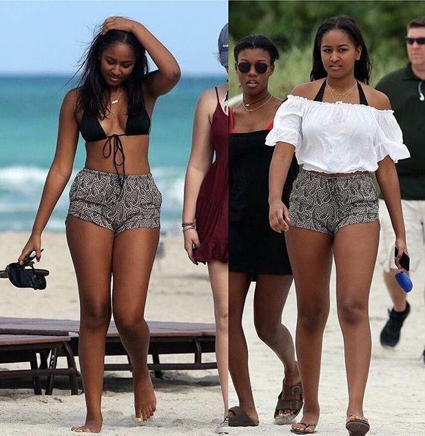 Sasha Obama Vacation in Miami