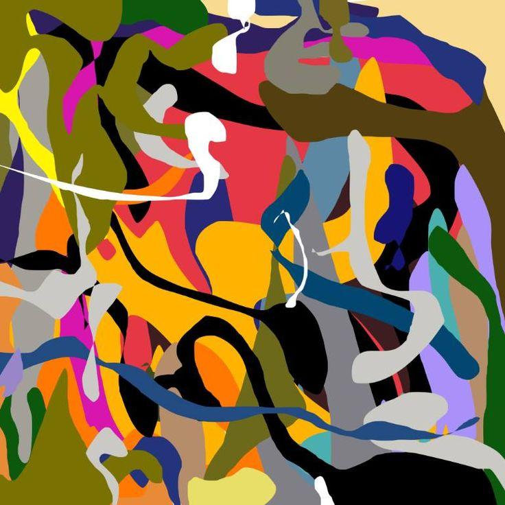 "Saatchi Art Artist Richard Brandão; Printmaking, ""WONDERLAND Nº01 - Limited Edition 1 of 1"" #art"