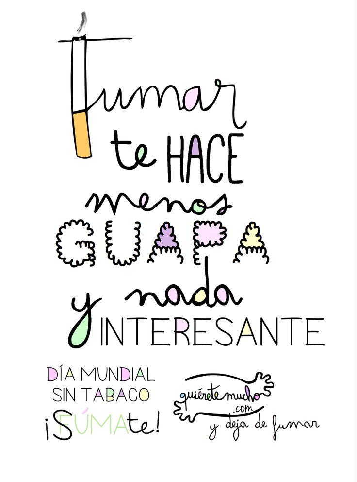 www.quieretemucho.com #DíaMundialSinTabaco