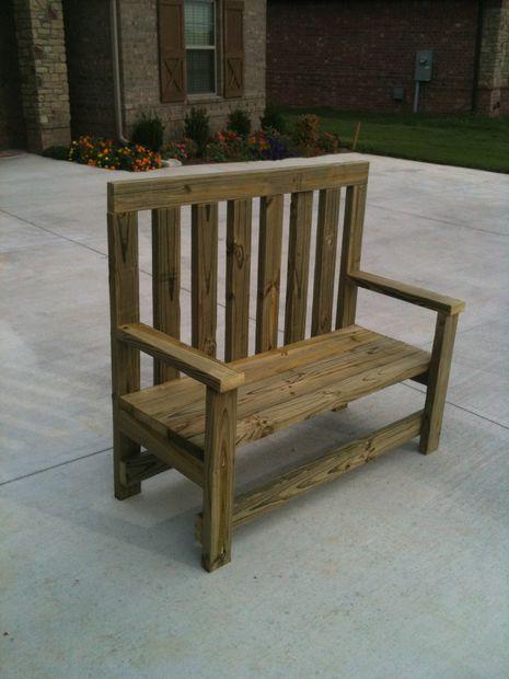 2x4 Backyard Bench Diy Furniture Chair Diy Furniture
