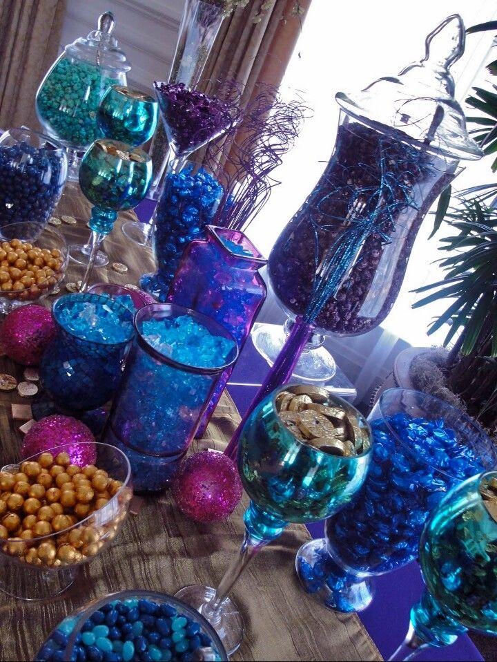 Galaxy Themed Candy Bar Ideas
