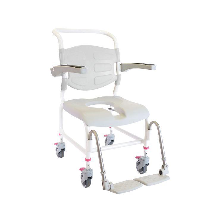 HMA Nielsen Mobile Shower Commode Chair