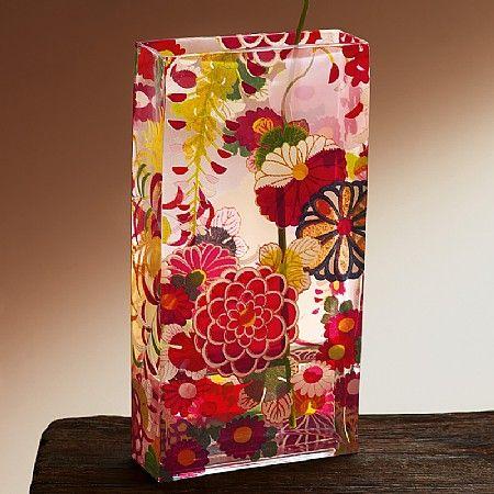 Ikebana Glass Vase