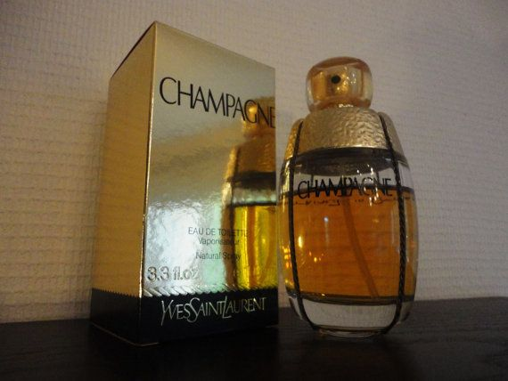 Parfum Champagne Yves St Laurent Paris Eau de par BettyseVintage, €400.00