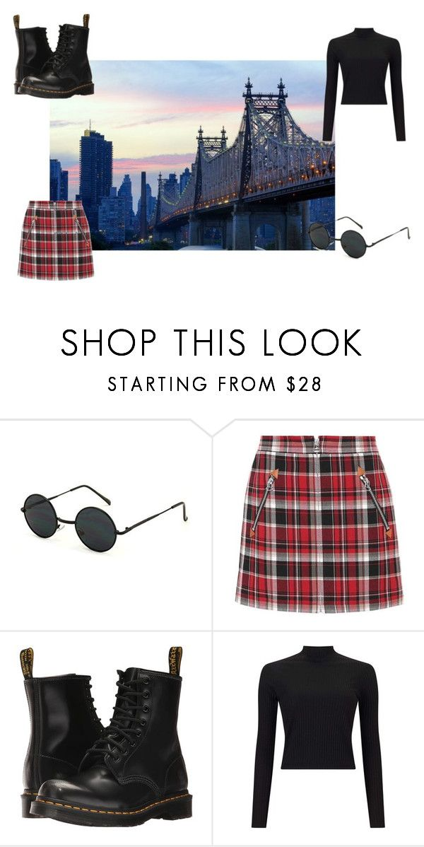 """#5"" by chloe-pickering on Polyvore featuring rag & bone, Dr. Martens and Miss Selfridge"
