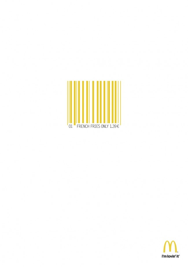 Barcode concept for #MacDonald (2 of 2) #ad #print