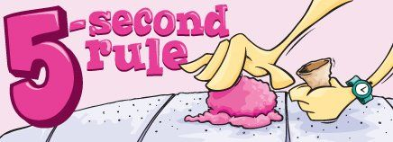 We've all heard of the five second rule, but is it true and safe? Answer: