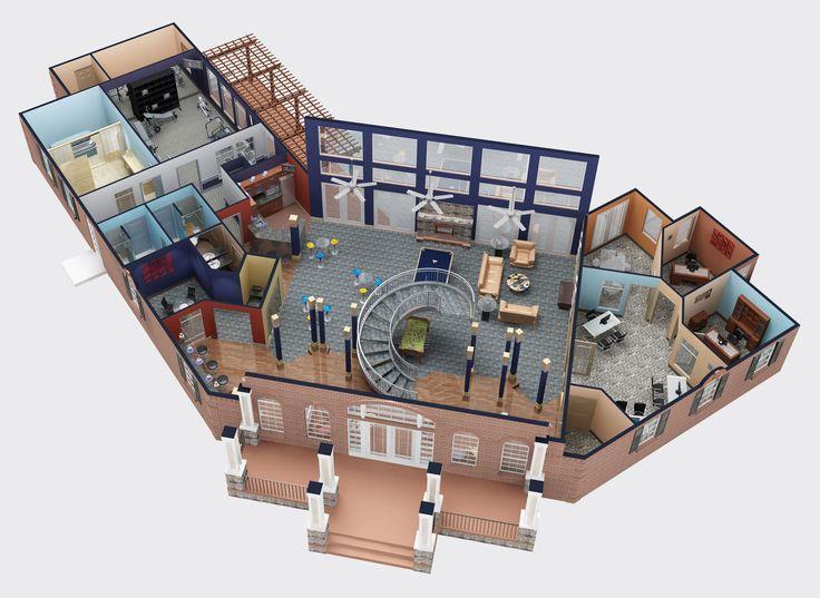 3d Floor Plan10 3d Design Softwarehouse