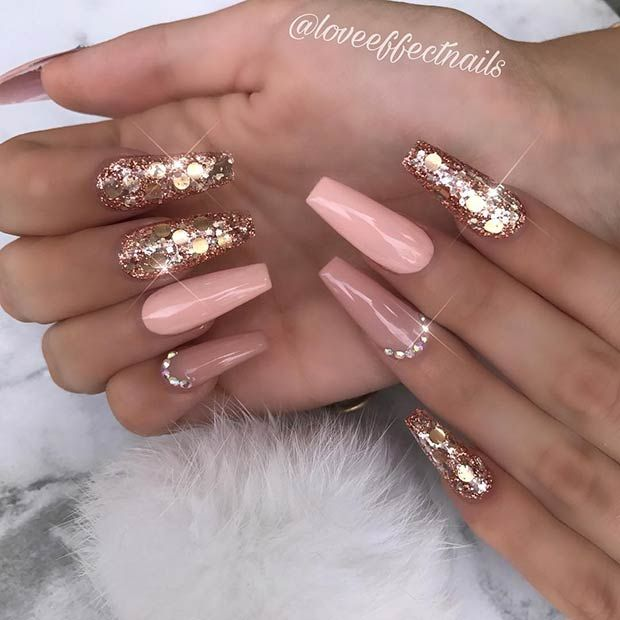 Gorgeous Coffin Acrylic Nails Ideas Naildesignsjournal Com Coffin Shape Nails Fire Nails Cute Acrylic Nail Designs