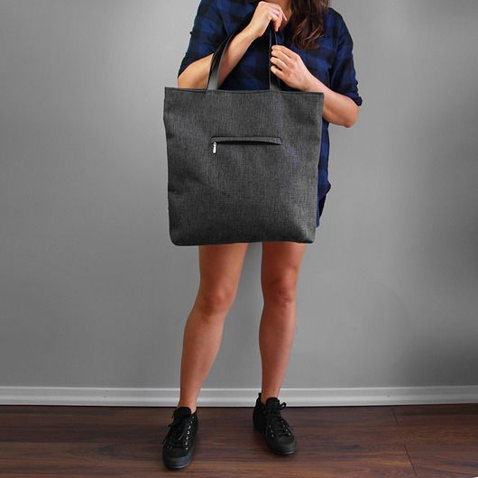 SHOPPER BAG 01 pojemna torba na ramię
