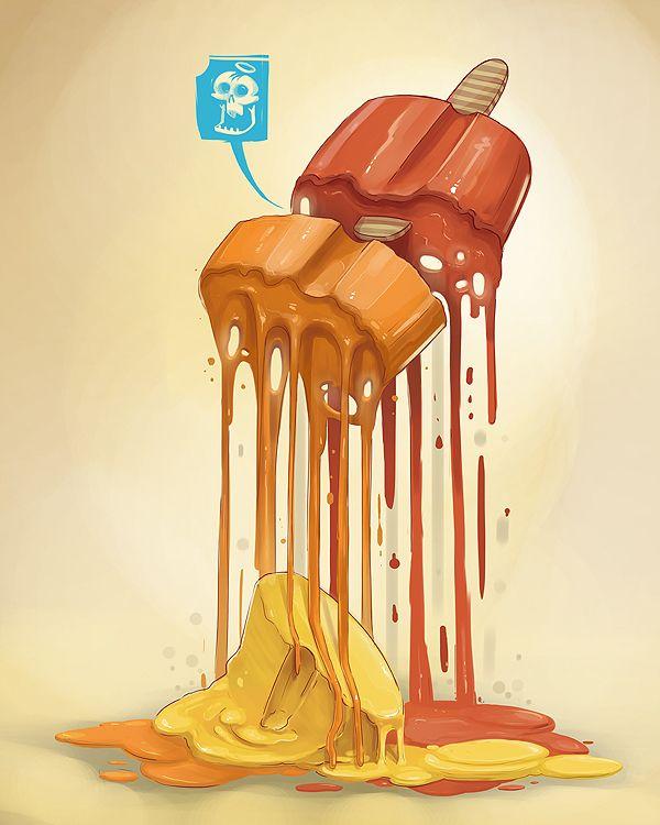 THE HUNGER GAMES by Georgi Dimitrov - Erase, via Behance