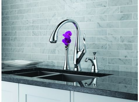 Exquisite style in your kitchen? Oh, yes. From efficient wall mount pot fillers to sculptural soap dispensers, Brizo kitchen faucets and accessories combine leading edge design with exceptional functionality. Find this sink and more at European Sink Outlet in Pompano Beach, FL.