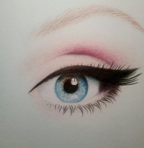Adele eye drawing