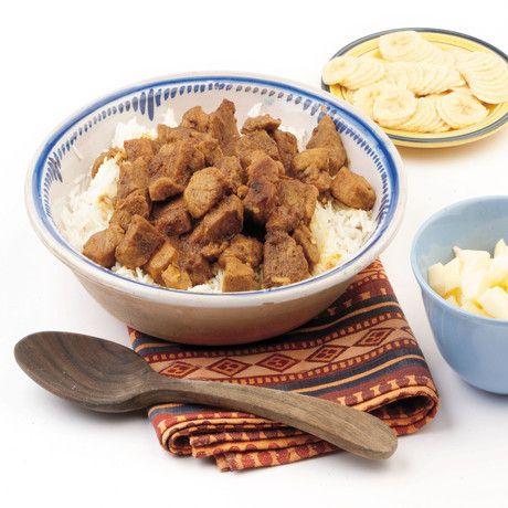 Ricetta Curry d'agnello