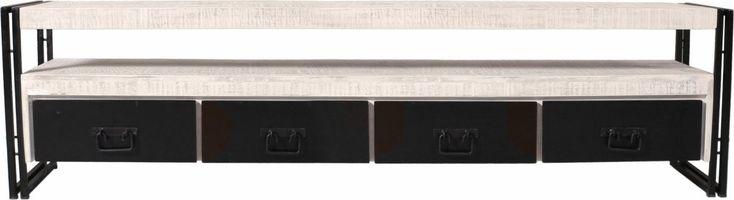 TV-Lowboard weiß, »White Panama«, FSC®-zertifiziert, SIT-Möbel Jetzt bestellen unter: https://moebel.ladendirekt.de/wohnzimmer/tv-hifi-moebel/tv-lowboards/?uid=ef8df96e-e7f8-5bfc-9687-ab402b465bfc&utm_source=pinterest&utm_medium=pin&utm_campaign=boards #tvlowboards #tvlowboard #wohnzimmer #tvhifimoebel Bild Quelle: yourhome.de