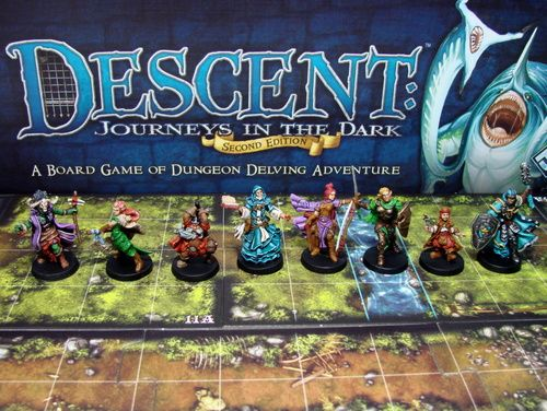 Descent: Journeys in the Dark The Final First Edition FAQ