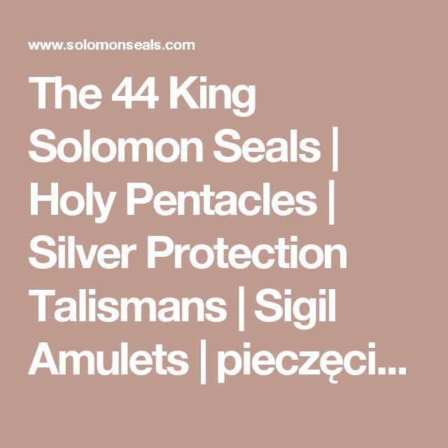44 seals of solomon pdf