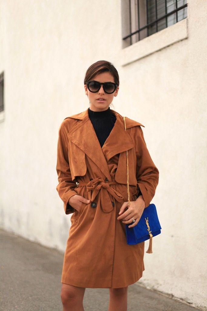 topshop, ysl suede bag, what is fashion, style, beauty, camel trend, trends, 2015 style bloggers, blogger, street style, look for less, sazan, hendrix, style, topshop trends, coat, how to style, tips for wearing, suede, western trend, trench coat, shop trench coats, cute trench coats, turtleneck, sleek hair, makeup idea, hairstyles, hair idea