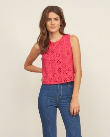 Womens Fashion Tops Tops | eu.Abercrombie.com