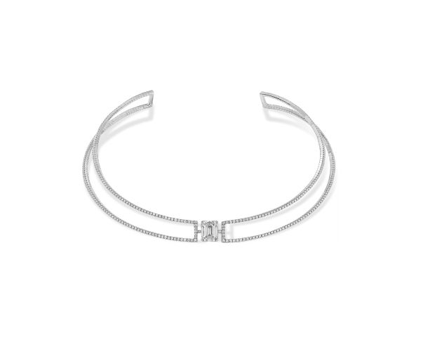 Collier Solitaire Taille Emeraude | Messika Joaillerie
