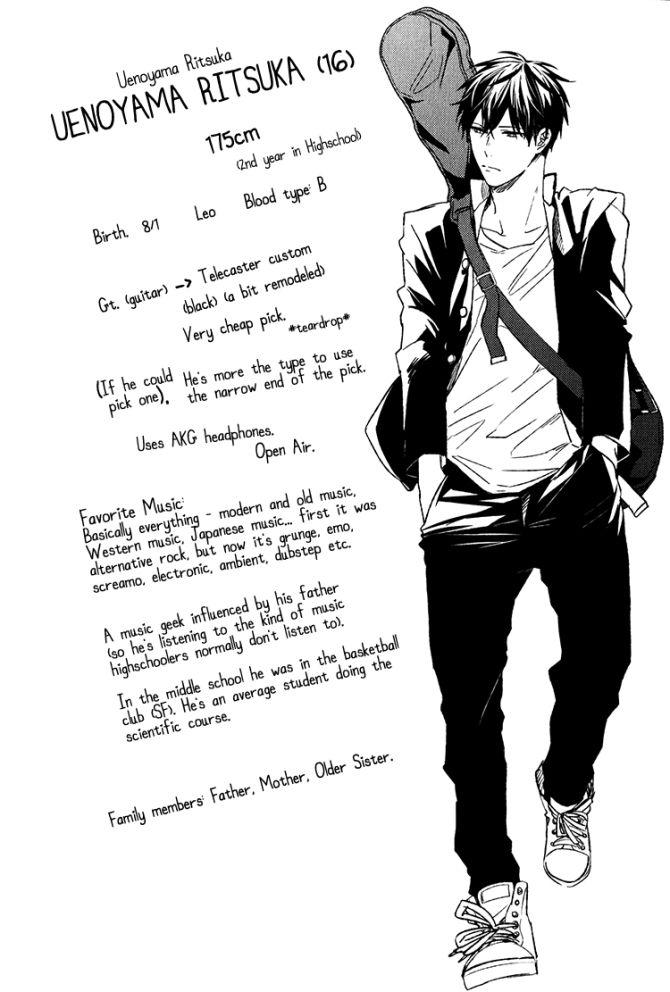 Uenoyama Ritsuka Given Natsuki Kizu Given Anime Manga Anime