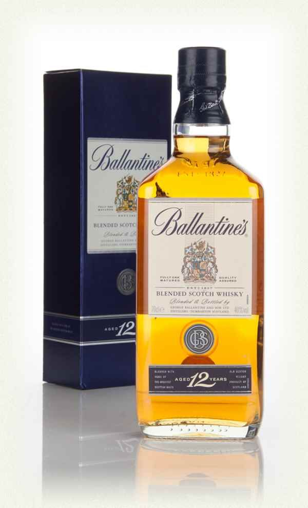 Ballantine S 12 Year Old Whisky Escoces Whisky Botellas