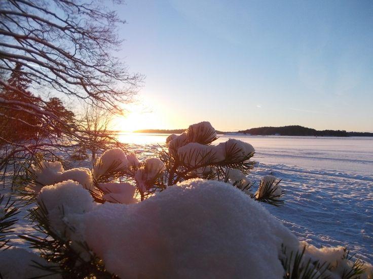 Frozen Baltic Sea- Winters in Finland