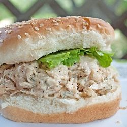 Chicken Caesar Sandwiches by JuanitasCocina: Slow Cooker Chicken, Chicken Salads, Crockpot, Crock Pot Chicken, Chicken Caesar Salad, Recipes, Crock Pots Chicken, Chicken Caesar Sandwiches, Chicken Salad Sandwiches