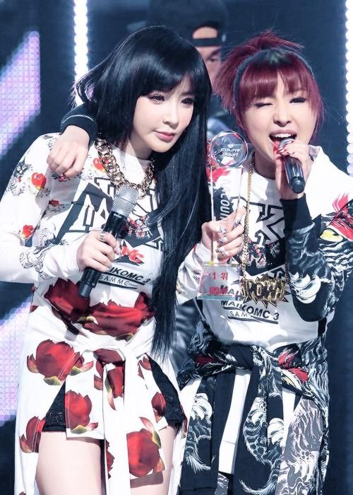 Minzy's hair though