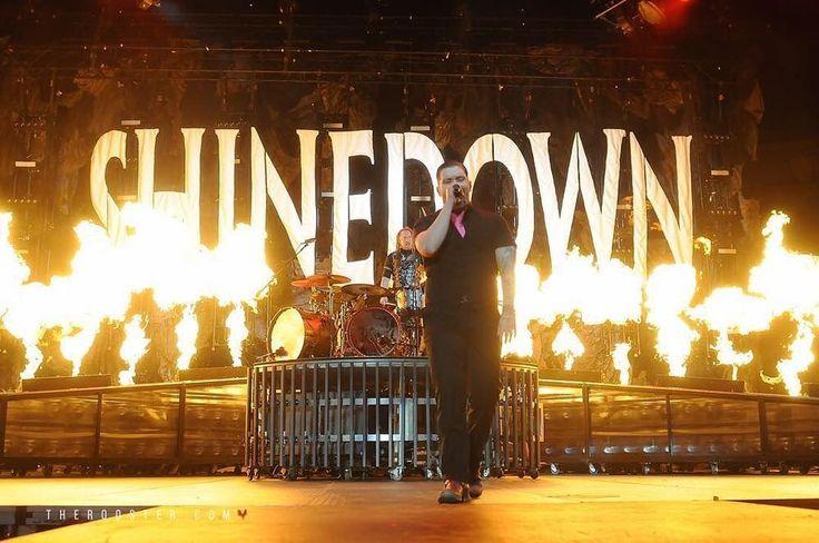 Shinedown SixxAM &FF Nov 2, 2016 Alyssa Grant Wyatt & Craig