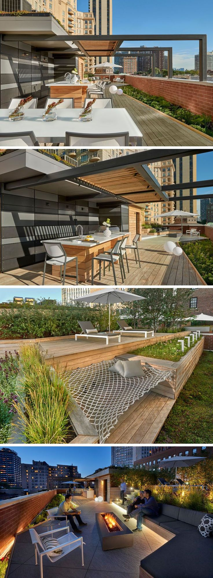 Nv united states rough in piping for outdoor island sink and bbq - These 10 Rooftop Decks Are Always Ready For Outdoor Entertaining