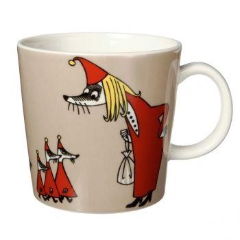 Moomin mug Fillyjonk, beige