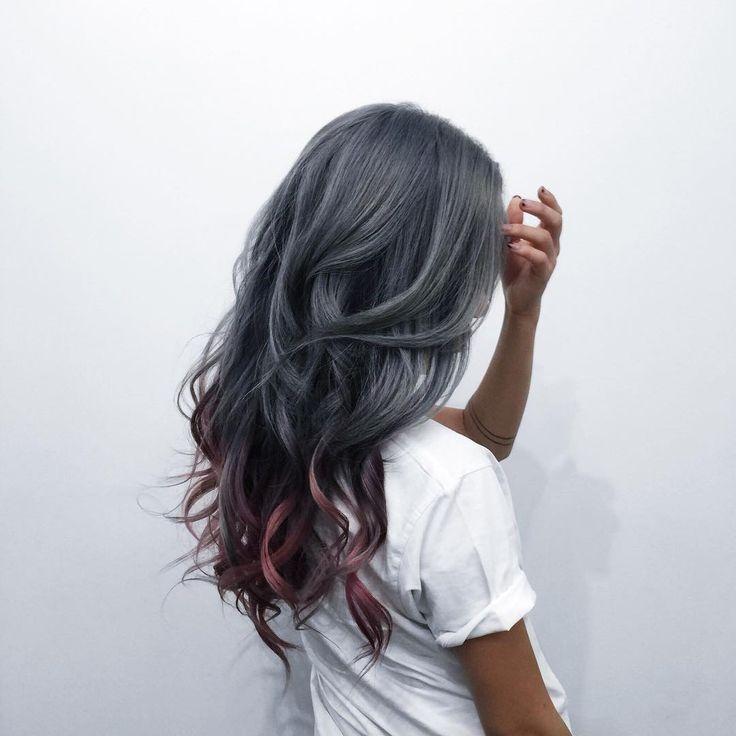 1000 ideas about dark grey hair dye on pinterest dark