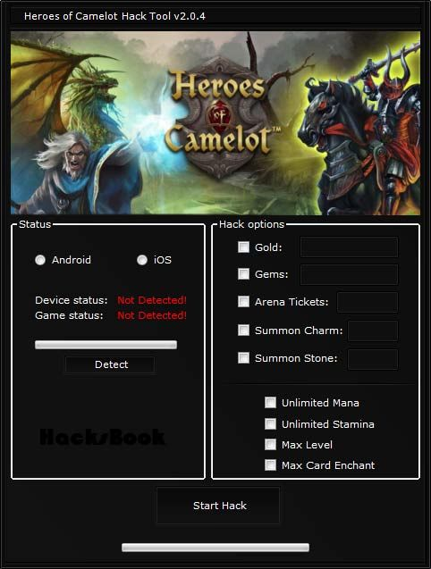Heroes of Camelot Hack Tool No Survey (Android | IOS)