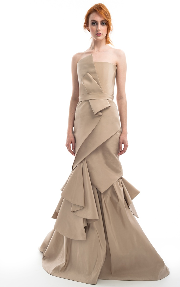 115 best Draped Gowns images on Pinterest   High fashion, Sweet ...