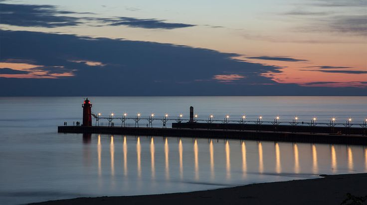 South Haven Michigan Lighthouse Photograph