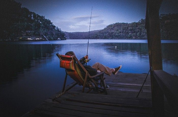 Calabash Bay Lodge - boutique luxury retreat on the Hawkesbury River. http://bit.ly/RJtIsS #Sydney #NewSouthWales #Australia #travel