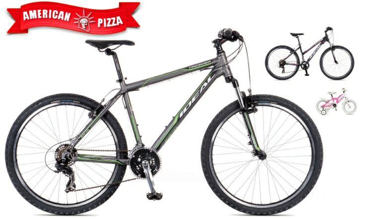 Διαγωνισμός του americanpizza.gr με δώρο Ποδήλατο IDEAL,http://www.diagonismoidwra.gr/?p=10083