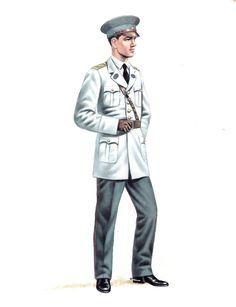 Uniformes del Ejército de Chile de 1934, engineers officer, pin by Paolo Marzioli