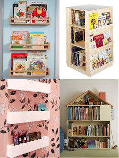 La mamá de Nicolás: Un librero para pequeños lectores