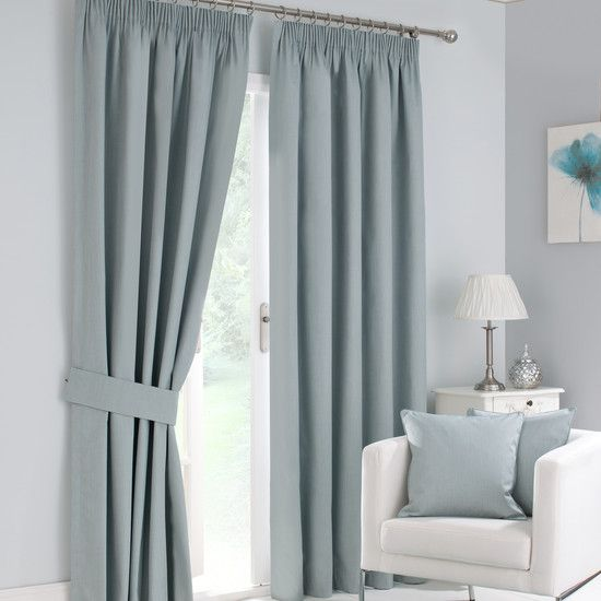 Duck egg solar blackout curtain collection dunelm from - Blackout curtains for master bedroom ...